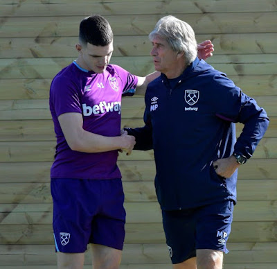 Red Devils invest up to 80 million for Declan Rice