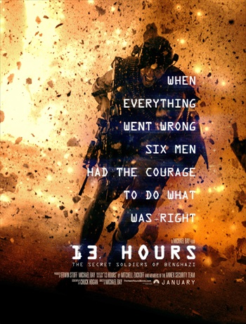 13 Hours The Secret Soldiers of Benghazi 2016 English Movie Download
