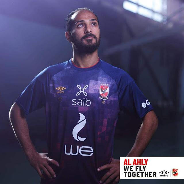 وليد سليمان بقميص الأهلى الجديد 2021