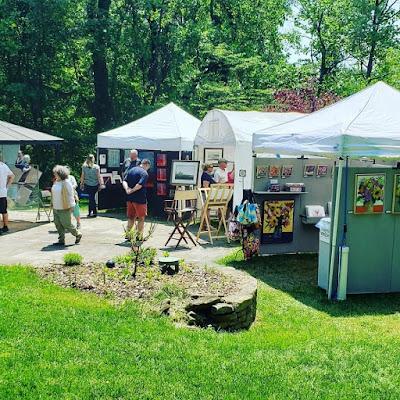 2019 Chester County Studio Tour favorite artist Merrill Weber