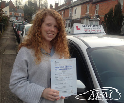 Driving Lessons Reading, Driving School Testimonials, Driving Instructors Reading, MSM Driving School, Matthews School Of Motoring