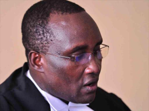 Justice John Onyiego photo in Mandera