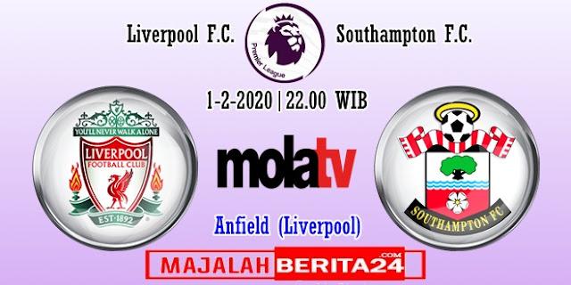 Prediksi Liverpool vs Southampton — 1 Februari 2020