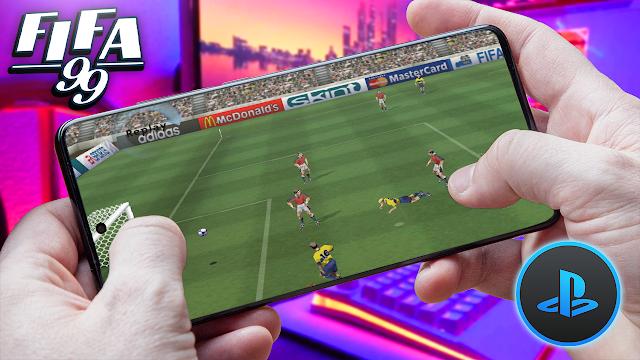 FIFA Soccer '99 Para Teléfonos Android (ROM PS1)