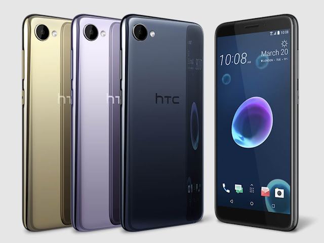 مواصفات وسعر هاتف HTC Desire 12 و HTC Desire 12 Plus بالصور
