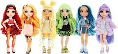 Радужные фэшн куклы Rainbow High Dolls с двумя аутфитами от MGA Entertainment