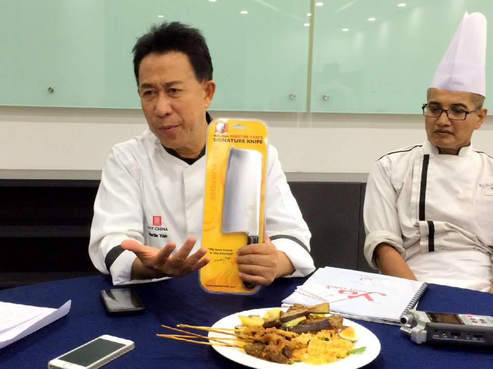 Martin Yan S All Purpose Kitchen Knife