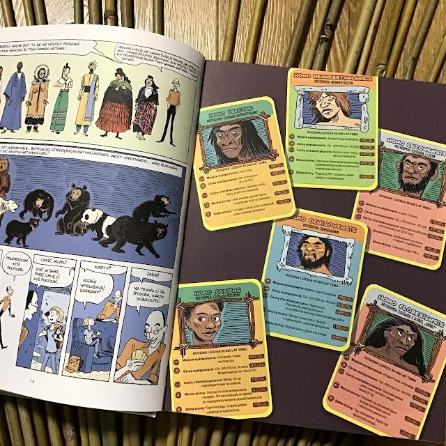 Sapiens. Opowieść graficzna 1. Narodziny ludzkości, Yuval Noah Harari, Vandermeulen,  Casanave, Wydawnictwo Literackie, komiks naukowy dla każdego