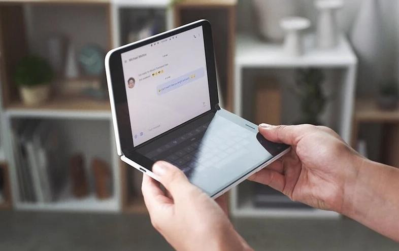 Microsoft mengisyaratkan Surface Duo 2 dengan dukungan untuk 5G