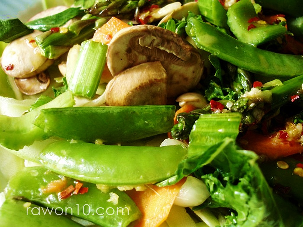 Raw on 10 a day or less unstirfry raw food entree recipe unstirfry raw food entree recipe forumfinder Image collections