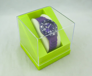 Display Watch Box with Clear Cover