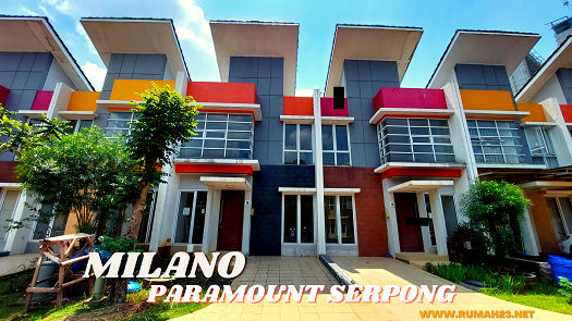 Rumah Di Gading Serpong Milano Village 6x16