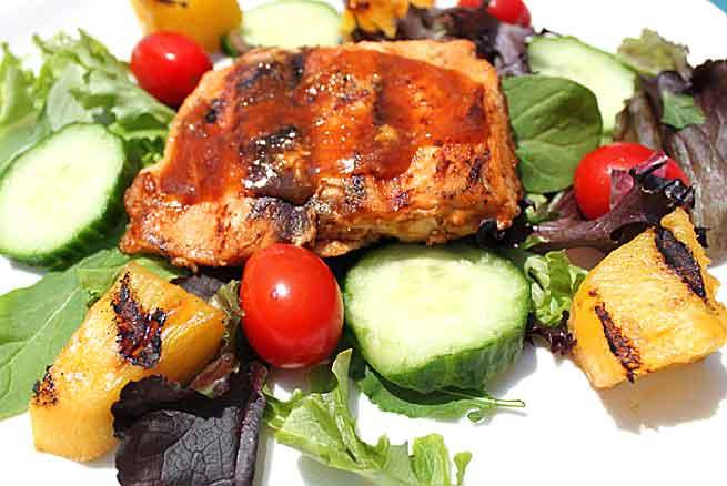 5 Ingredient Bourbon Salmon