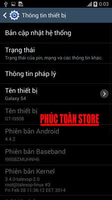 Tiếng Việt Samsung I9508 alt