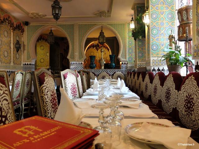 decoration restaurant couscous marocain aux trois 3 marches paris 17