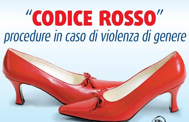 """""""Codice Rosso"""", procedure in caso di violenza di genere"""