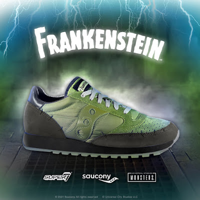 Super7 x Saucony Universal Monsters Sneaker Collection