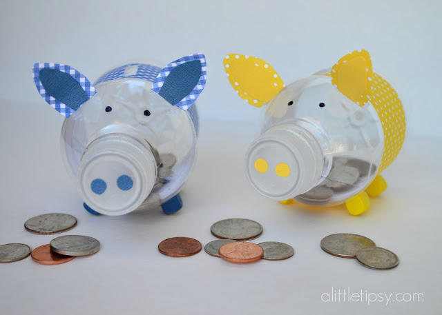 Bank Craft For Preschoolers Using Cardboard Soup Containers