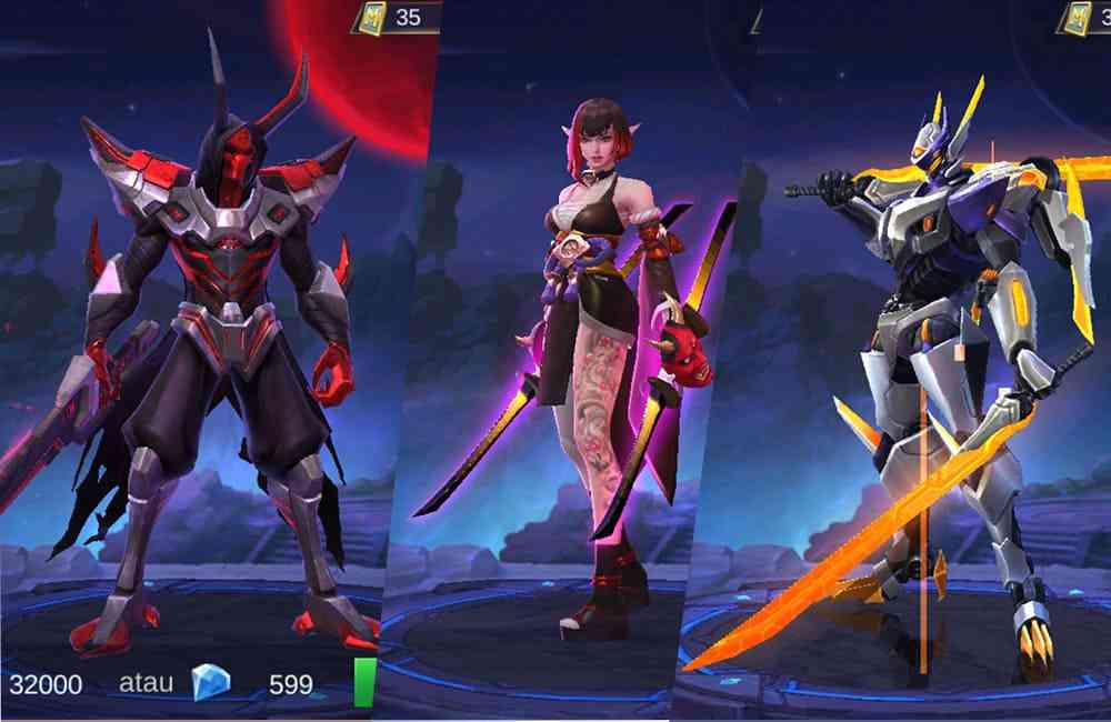 Cara Dapat Skin Epic Mobile Legends Gratis