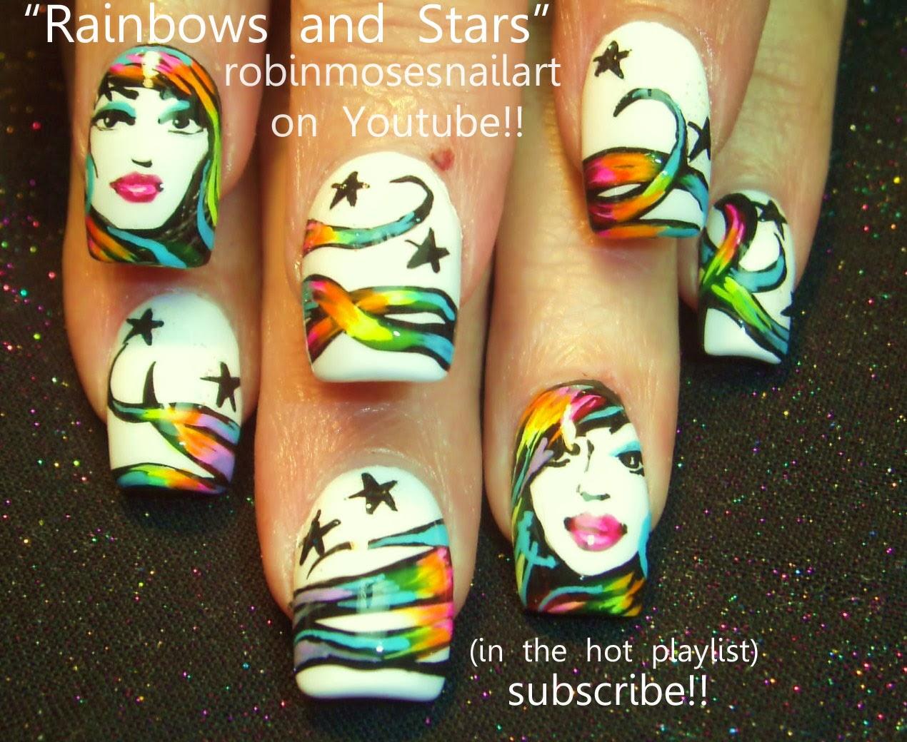 "Robin Moses Nail Art: ""stripper nails"" ""stripper nail art ..."