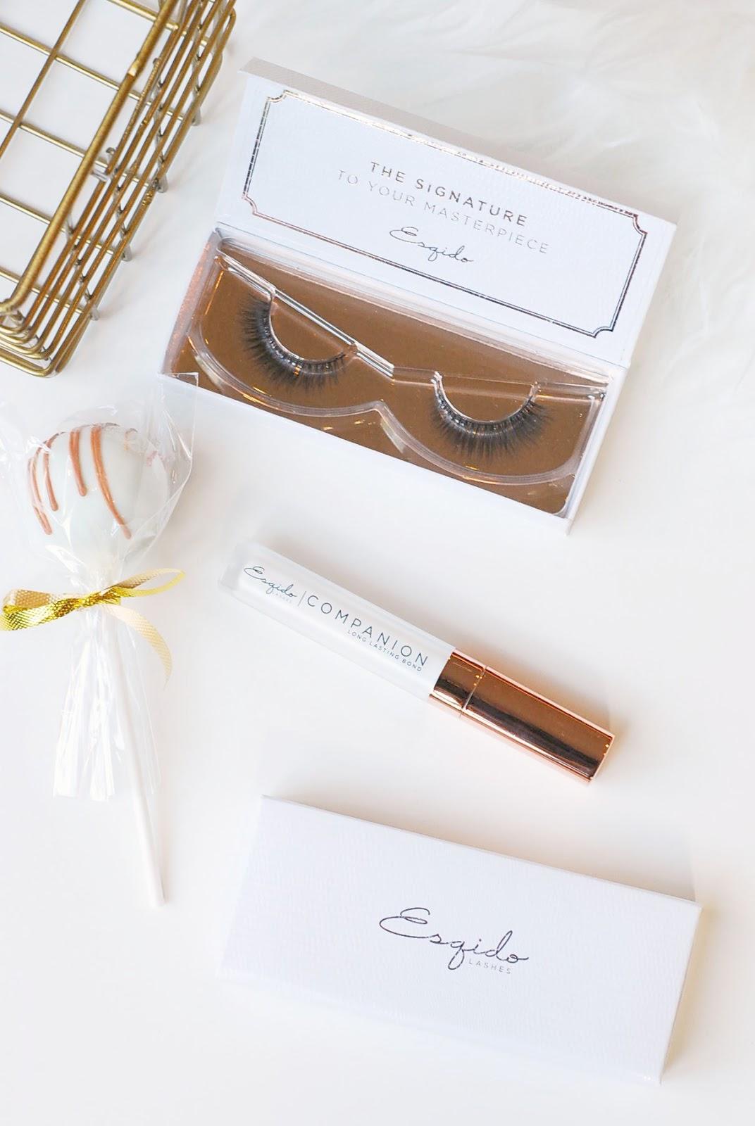 how to wear esqido mink false lashes