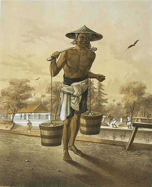 Litografi Auguste van Pers