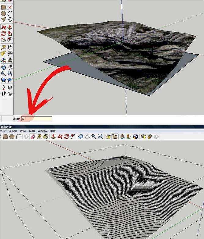 Image Result For Plugin Sketchup Untuk Membuat Kontur