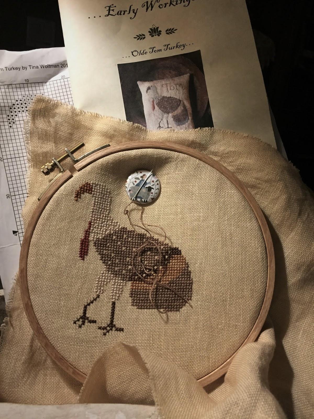"Finished Cross Stitch /"" Turkey/"""