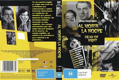 Al morir la noche (1945) - Carátula 2