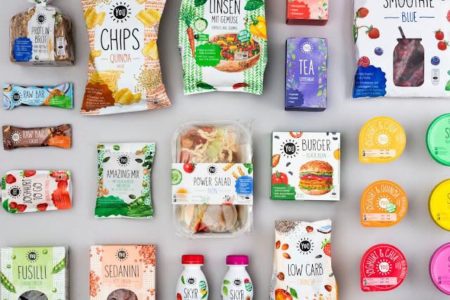 Packaging Watercolor Food illustrations by artist illustrator Irina Sztukowski