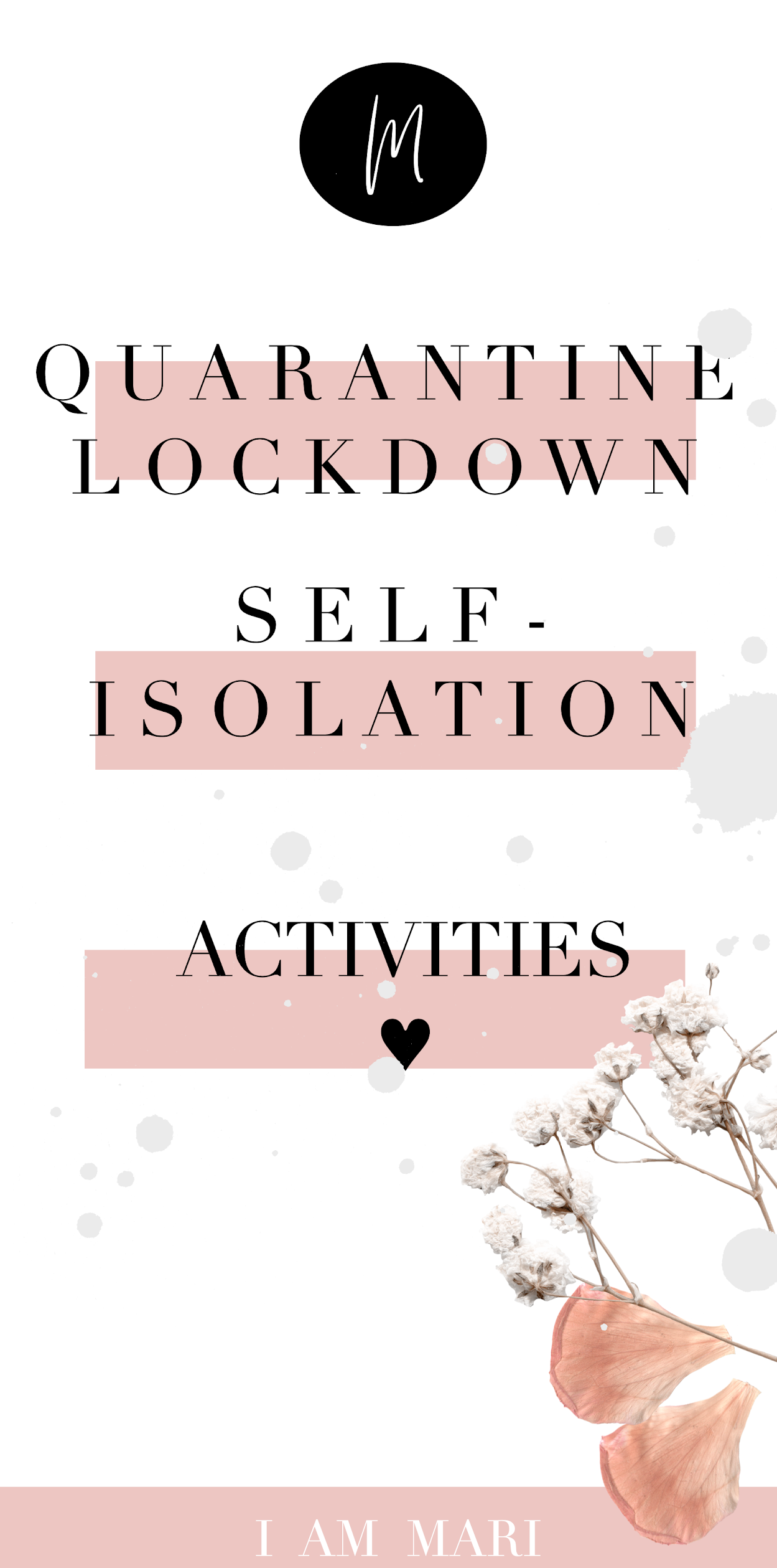 Books To Read During Quarantine | Self-Isolation | Lockdwon
