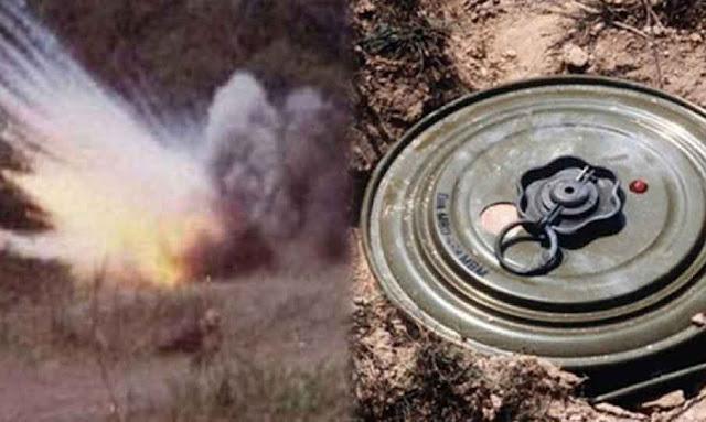وفاة مواطن في انفجار لغم في القصرين