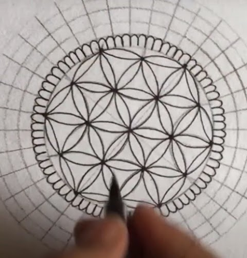 Mandala flower design for beginners part 2