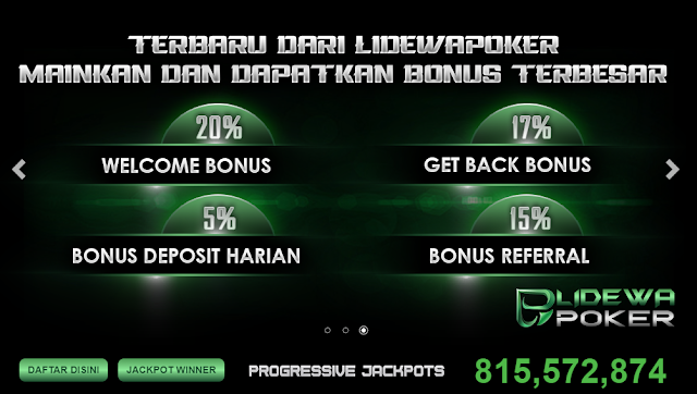 Website poker online terbaik Indonesia