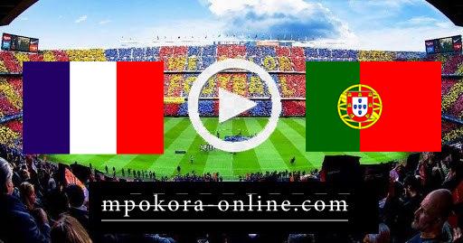 مشاهدة مباراة البرتغال وفرنسا بث مباشر كورة اون لاين 23-06-2021 يورو 2020
