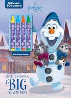 Disney Olaf's Frozen Adventure: Little Snowman, Big Adventures  cover