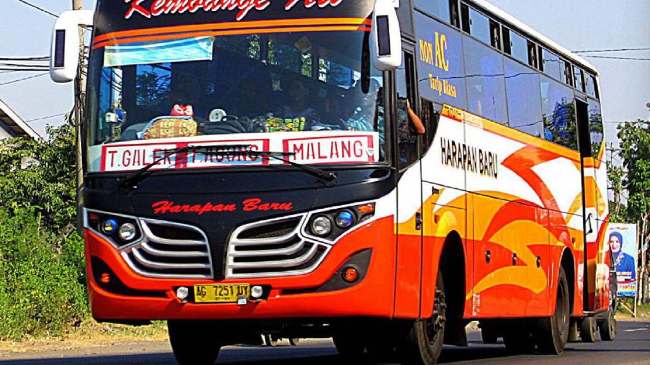 Jadwal Keberangkatan Bus Harapan Baru Jurusan Trenggalek - Malang - Banyuwangi PP