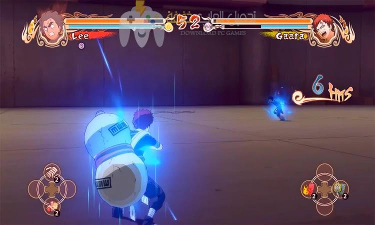 تحميل لعبة Naruto Shippuden Ultimate Ninja Storm 1 من ميديا فاير بحجم صغير