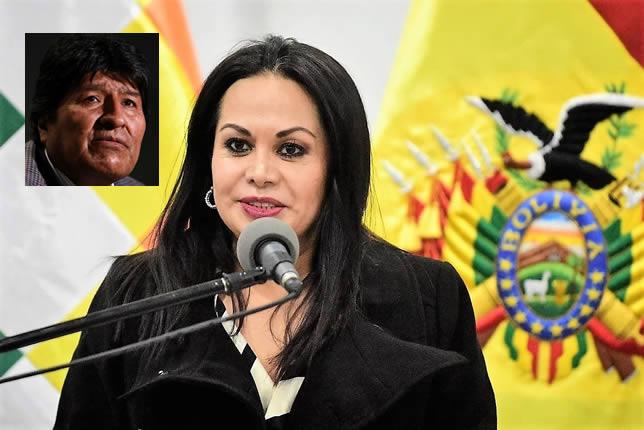 Lizárraga a Morales: Lo estamos esperando porque deber rendir cuentas ante la justicia