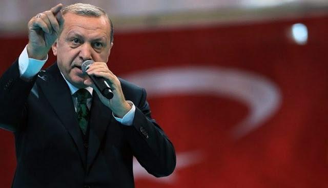 Προφητεία Ερντογάν: «Θα έρθουν επάνω μας σαν κοράκια με κουκούλα…»