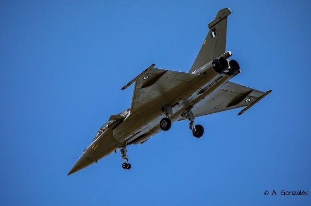 Το πρώτο Ελληνικό Rafale στον αέρα με τα διακριτικά της ΠΑ-Πότε προσγειώνεται στην Τανάγρα (ΦΩΤΟ)