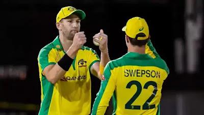 Andrew Tye and Mitchell Swepson come into Australia's XI