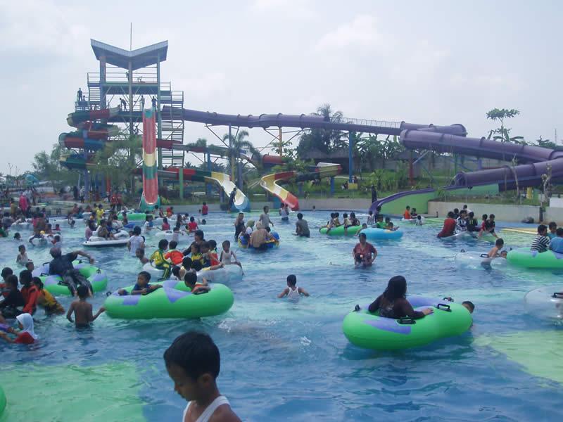 Water Splash Indihiang Tempat Wisata di Tasikmalaya Terbaru