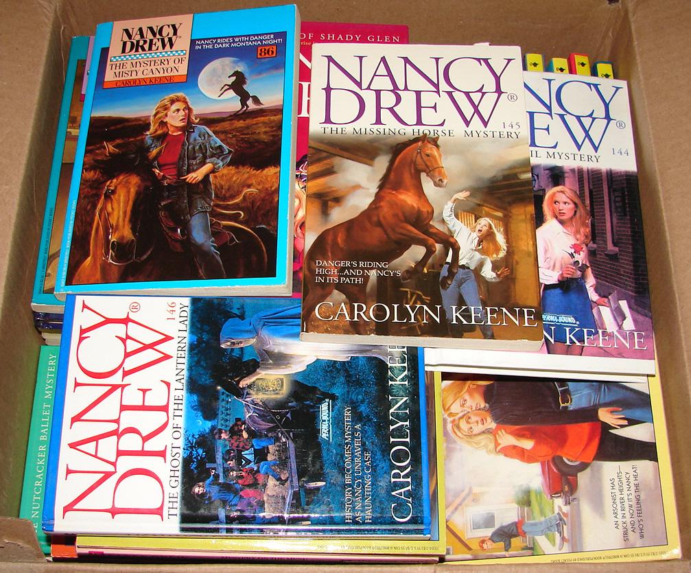Lot 11 Hardcover Nancy Drew Books