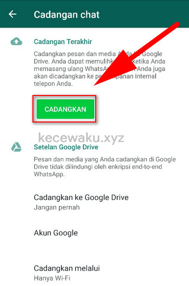 47+ Cara Membuka Backup Chat Wa Di Google Drive paling mudah