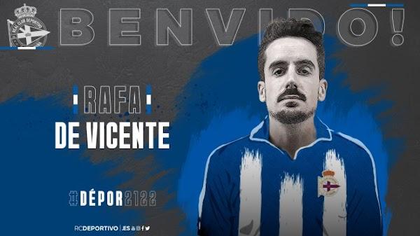 Oficial: El Deportivo ficha al ex malaguista Rafa de Vicente