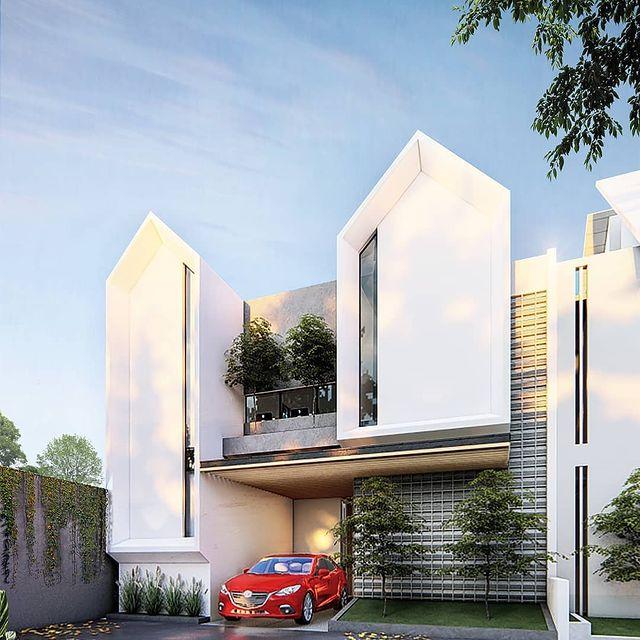 desain rumah minimalis cor dak