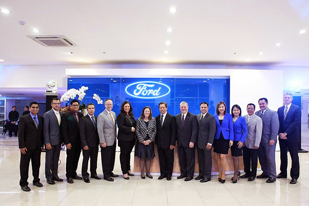 ford philippines hosts opening of largest dealership in the country philippine car news car. Black Bedroom Furniture Sets. Home Design Ideas