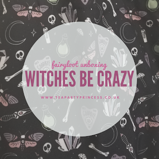Book Box Review: Witches Be Crazy - Fairyloot September 2019