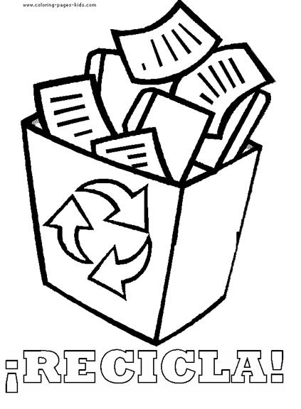 Bolsas de basura para colorear - Imagui